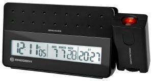 BRESSER MYTIME PRO PROJECTION ALARM CLOCK BLACK 8010030