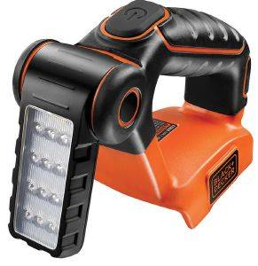 ΦΑΚΟΣ ΜΠΑΤΑΡΙΑΣ BLACK N DECKER 70 LUMENS 12 LED 18V LI-ION SOLO BDCF18N