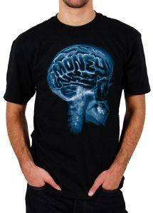 T-SHIRT ECKO UNLTD MONEY ON MY MIND ΜΑΥΡΟ (S)