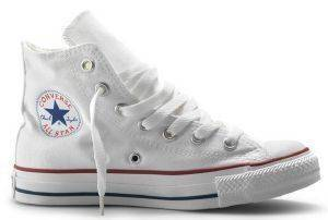 ΜΠΟΤΑΚΙ CONVERSE ALL STAR CHUCK TAYLOR CORE HI 3J253C OPTICAL WHITE