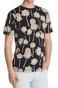 T-SHIRT WESC MAXWELL HAWAII ΜΑΥΡΟ