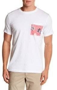 T-SHIRT WESC MAXWELL CHESTPOCKET ΛΕΥΚΟ