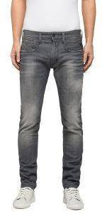 JEANS REPLAY ANBASS SLIM M914.000.21C SLIM ΓΚΡΙ