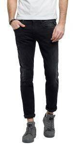 JEANS REPLAY M914.000.661 16B REGULAR ΜΑΥΡΟ