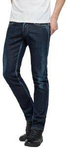 JEANS REPLAY MA946.000.61C 144  SLIM ΣΚΟΥΡΟ ΜΠΛΕ