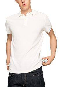 T-SHIRT POLO PEPE JEANS VINCENT ΛΕΥΚΟ
