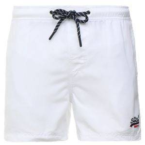 BOXER SUPERDRY BEACH VOLLEY ΛΕΥΚΟ