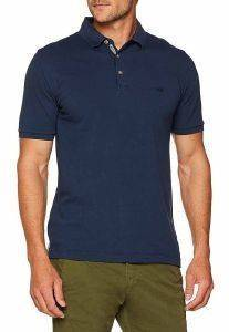T-SHIRT POLO CAMEL ACTIVE PIQUE CD-338036-17 ΣΚΟΥΡΟ ΜΠΛΕ