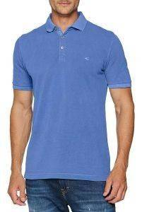 T-SHIRT POLO CAMEL ACTIVE PIQUE CD-338036-12 ΜΠΛΕ ΡΟΥΑ