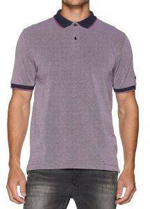 T-SHIRT POLO CAMEL ACTIVE PIQUE CD-3388256-86 ΜΩΒ ΜΕΛΑΝΖΕ