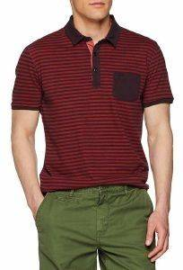 T-SHIRT POLO CAMEL ACTIVE ΡΙΓΕ CD-338276-42 ΚΟΚΚΙΝΟ