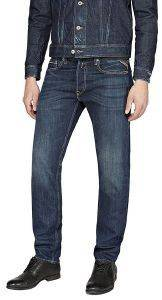 JEANS REPLAY GROVER STRAIGHT MA972.000.606.300 ΣΚΟΥΡΟ ΜΠΛΕ
