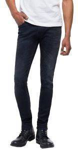 JEANS REPLAY ANBASS SLIM M914 .000.135 385 ΜΑΥΡΟ