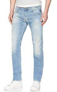JEANS REPLAY ANBASS SLIM M914E .000.141 476 ΑΝΟΙΧΤΟ ΜΠΛΕ