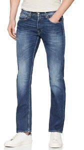 JEANS REPLAY GROVER STRAIGHT MA972 .000.174 406 ΣΚΟΥΡΟ ΜΠΛΕ (31/32)