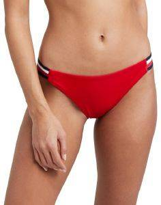 BIKINI BRIEF TOMMY HILFIGER SIGNATURE TAPE MINI UW0UW01463/611 ΚΟΚΚΙΝΟ