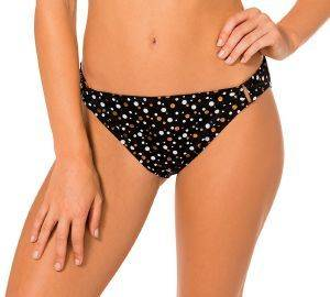 BIKINI BRIEF DORINA CANNES D01092M MINI ΜΑΥΡΟ