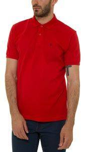 T-SHIRT POLO THE BOSTONIANS 3PS0001 ΚΟΚΚΙΝΟ (L)