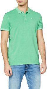 T-SHIRT POLO PEPE JEANS VINCENT GD PM541225 ΠΡΑΣΙΝΟ