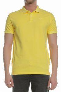 T-SHIRT POLO PEPE JEANS VINCENT GD PM541225 ΚΙΤΡΙΝΟ