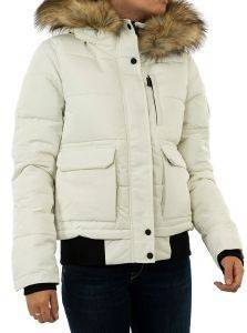 ΜΠΟΥΦΑΝ SUPERDRY EVEREST BOMBER W5010303A ΕΚΡΟΥ