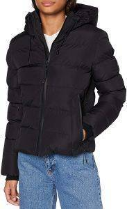 ΜΠΟΥΦΑΝ SUPERDRY SPIRIT SPORTS PUFFER W5010286A ΜΑΥΡΟ