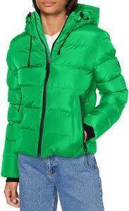 ΜΠΟΥΦΑΝ SUPERDRY SPIRIT SPORTS PUFFER W5010286A ΠΡΑΣΙΝΟ