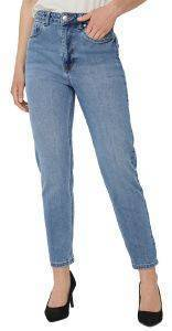 JEANS VERO MODA VMJOANA HR STRETCH MOM 10226479 ΑΝΟΙΧΤΟ ΜΠΛΕ