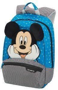 ΣΑΚΙΔΙΟ SAMSONITE DISNEY ULTIMATE 2.0 MICKEY LETTERS S+ ΜΠΛΕ