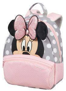 ΣΑΚΙΔΙΟ SAMSONITE DISNEY ULTIMATE 2.0 MINNIE GLITTER S ΡΟΖ/ΓΚΡΙ