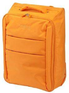 ΒΑΛΙΤΣΑ ΚΑΜΠΙΝΑΣ PRINCESS PALERMO TROLLEY FOLDABLE  ORANGE