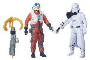 STAR WARS FIRST ORDER SHOWTROOPER OFFICER SNAP WEXLEY Η ΔYΝΑΜΗ ΞΥΠΝA ΦΙΓΟYΡΑ 9,5CM