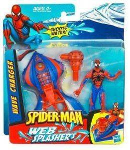 ΦΙΓΟΥΡΑ ΜΕ ΟΧΗΜΑ SPIDER-MAN WEB SPLASHERS WAVE CHARGER