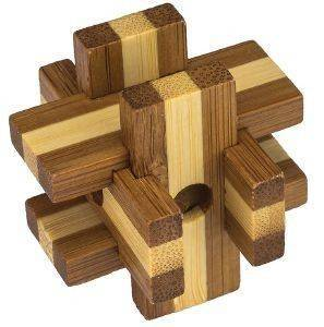 ΓΡΙΦΟΣ PROFESSOR PUZZLE  MINI BAMBOOS BOX