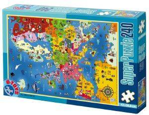 PUZZLE D-TOYS 240 ΚΟΜΜΑΤΙΑ [50663MP01]