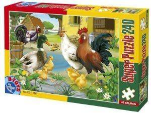 PUZZLE D-TOYS 240 ΚΟΜΜΑΤΙΑ [60211AN01]