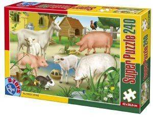 PUZZLE D-TOYS 240 ΚΟΜΜΑΤΙΑ [60211AN02]