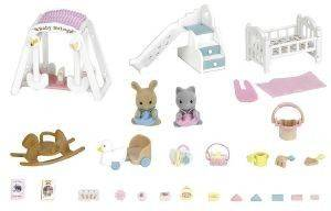 SYLVANIAN FAMILIES NURSERY ROOM SET [5166]
