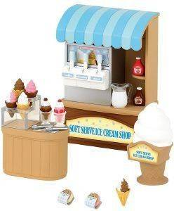 SYLVANIAN FAMILIES SOFT SERVE ICE CREAM SHOP [5054]