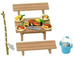 SYLVANIAN FAMILIES FAMILY BARBECUE SET (5091]