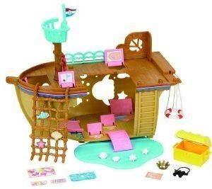 SYLVANIAN FAMILIES ADVENTURE TREASURE SHIP [5210]