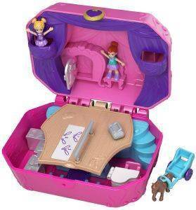 POLLY POCKET MINI Ο ΚΟΣΜΟΣ ΤΗΣ POLLY TINY TWIRLIN' MUSIC BOX [FRY35]