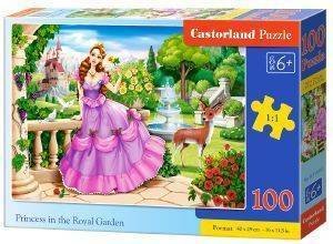 PRINCESS IN THE ROYAL GARDEN CASTORLAND 100 ΚΟΜΜΑΤΙΑ