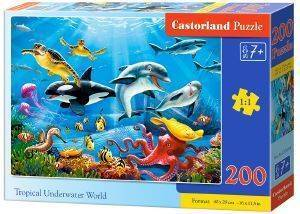 TROPICAL UNDERWATER WORLD CASTORLAND 200 ΚΟΜΜΑΤΙΑ