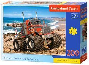 MONSTER TRUCK ON THE ROCKY COAST CASTORLAND 200 ΚΟΜΜΑΤΙΑ