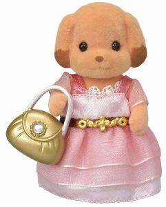 SYLVANIAN FAMILIES TOWN GIRL SERIES - TOY POODLE [6004]