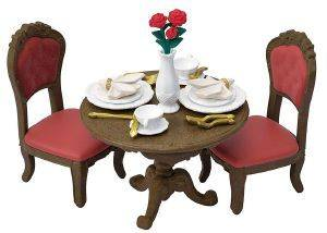 SYLVANIAN FAMILIES CHIC DINING TABLE SET [5368]