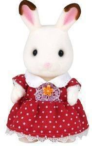 SYLVANIAN FAMILIES CHOCOLATE RABBIT - GIRL  [5250]