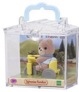 SYLVANIAN FAMILIES BABY CARRY CASE (BEAR ON TRICYCLE) [4391R1]