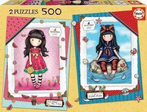 EDUCA PUZZLE EVERY SUMMER + LITTLE FISHES GORJUSS 2Χ500ΤΜΧ [Π.017.993]